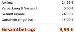Susan Y Damenarmband Kreuz für 9,99€ (statt 25€)