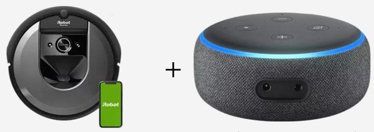 iRobot Roomba i7158 Saugerroboter + Echo Dot ab 589€ (statt 638€)