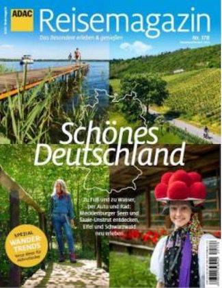 6 Ausgaben ADAC Reisemagazin für 46,80€ + 40€ Amazon Gutschein