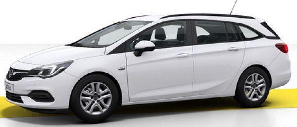 Gewerbe: Opel Astra Sports Tourer 1.2 mit 110 PS Modell 2021 für 98€ mtl. brutto   LF: 0,61