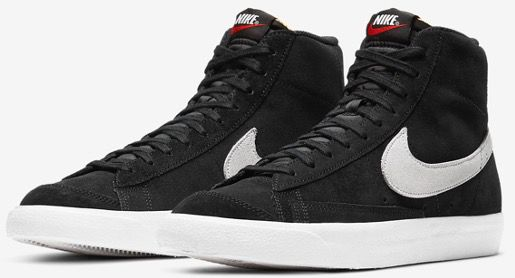 Nike Blazer Mid 77 Retro Sneaker in Schwarz für 44,38€ (statt 79€)