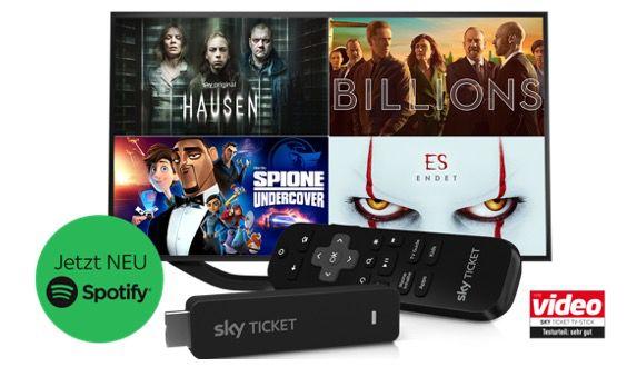 Sky Ticket CyberWeek: Gratis TV Stick zur Bestellung   z.B. Film & Serien für 14,99€ mtl.