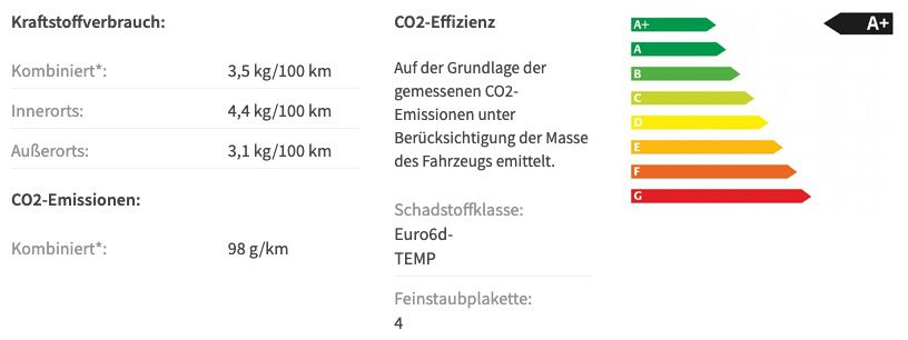 Seat Arona 1.0 TGI Style Erdgas im Privat Leasing für 109€ mtl.   LF: 0.51