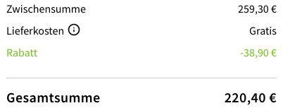 YAMAHA ATS 2070 Soundbar in schwarz ab 210,40€ (statt 280€)