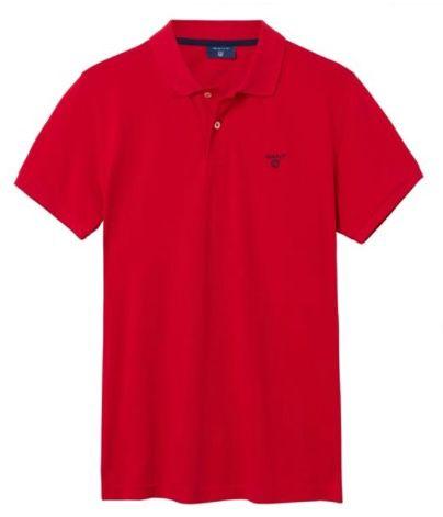 2x Gant Piqué Poloshirt mit Logo Stickerei in 8 Farben für 59,99€ (statt 82€)