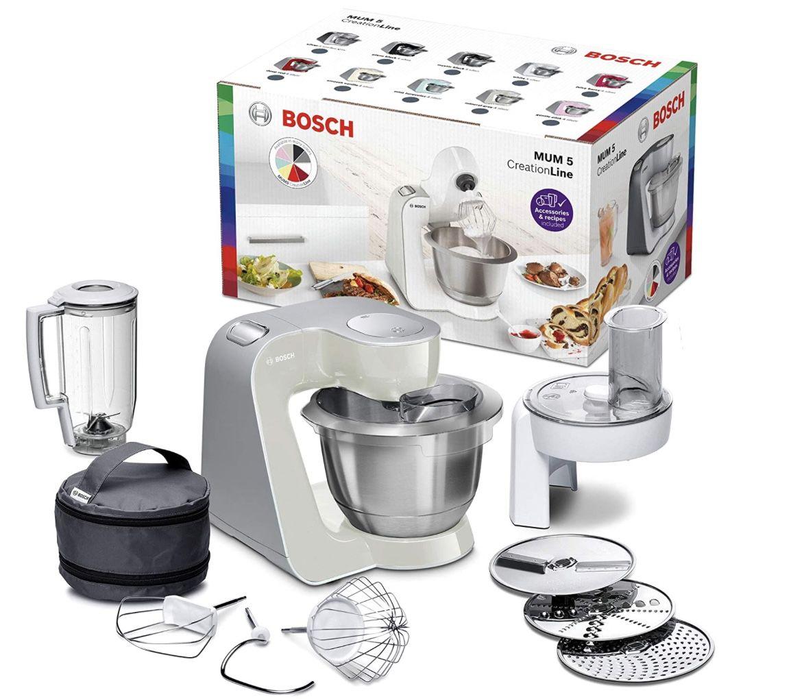 Bosch MUM58L20 CreationLine Küchenmaschine für 156,29€ (statt 175€)