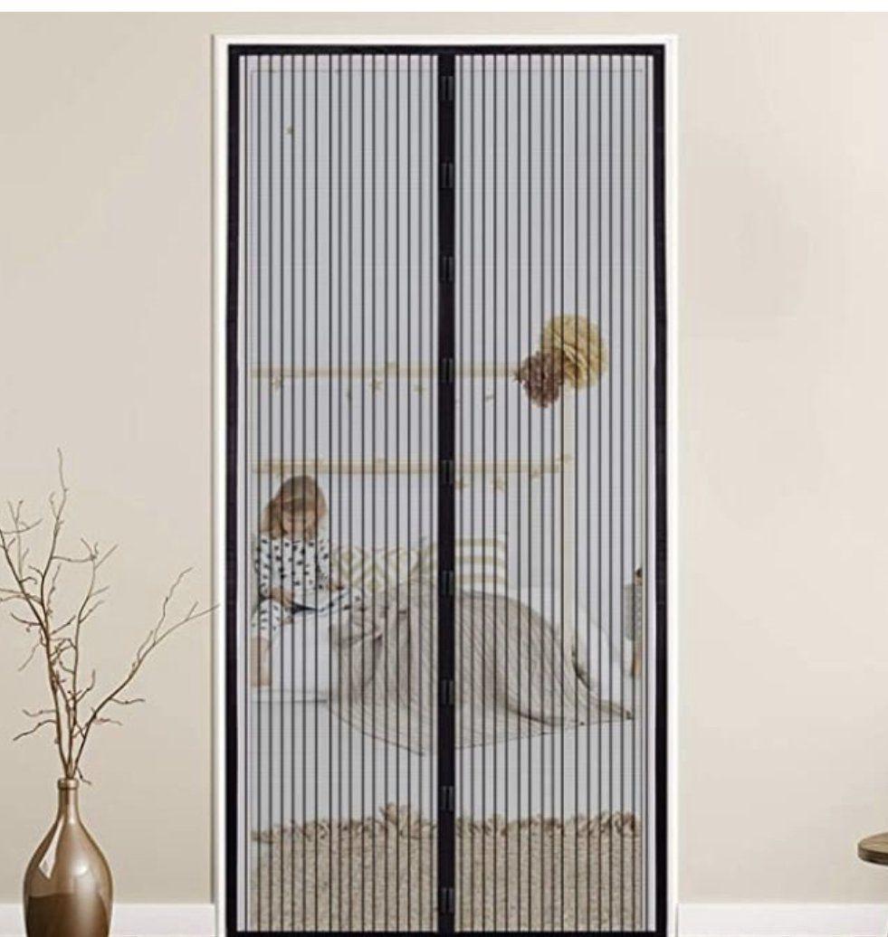 wolketon Magnet Fliegengitter für Türen (120 x 240 cm) für 9,79€ (statt 14€)