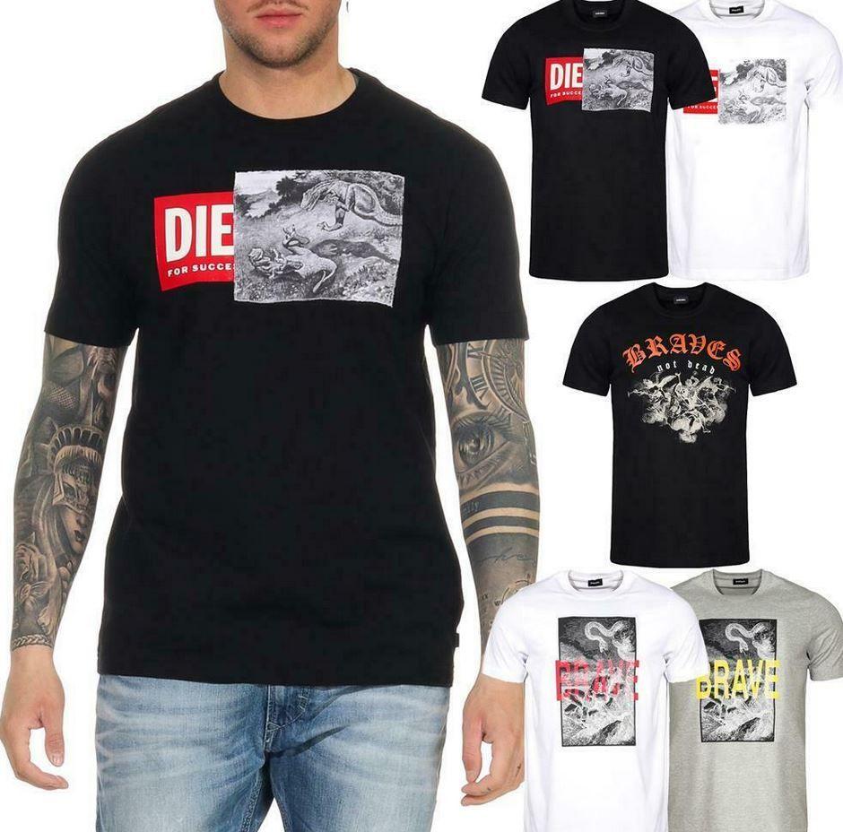 DIESEL T Just Herren Logo T Shirts bis 3XL ab 22,49€ (statt 30€)