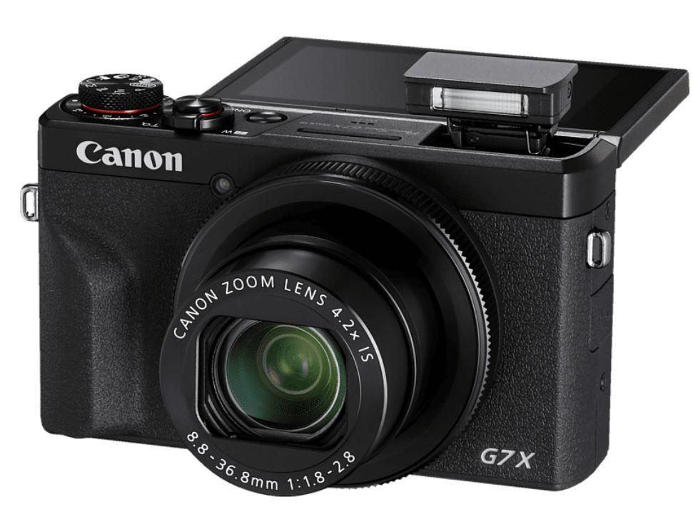 CANON PowerShot G7 X Mark III 4K  Digicam 4,4 Zomm 20MP ab 572,90€ (statt 623€)