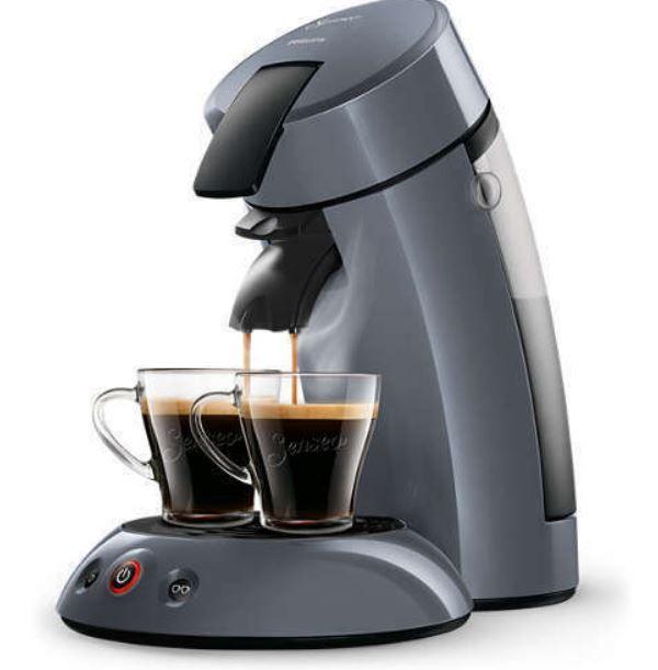 PHILIPS HD7806/51 dunkelgraue Senseo Kaffeepadmaschine für 39,99€ (statt 49€)