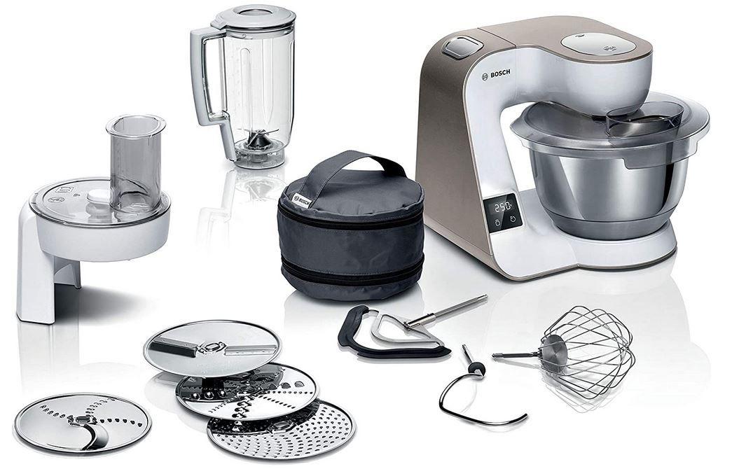 Bosch MUM5XW20 MUM 5  1.000W Küchenmaschin mit Zubehör für 259,99€ (statt 306€)
