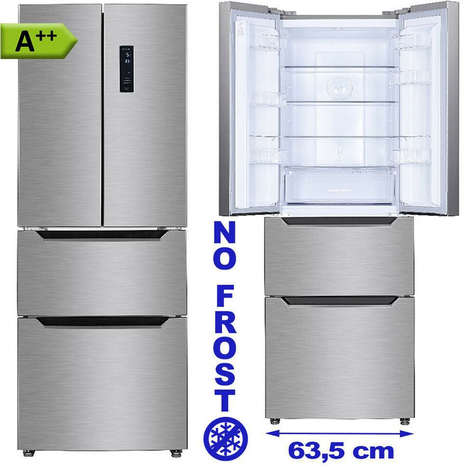 Wolkenstein PKM FD351.4   298l French Door Gefrierkombi für 459€ (statt 539€)