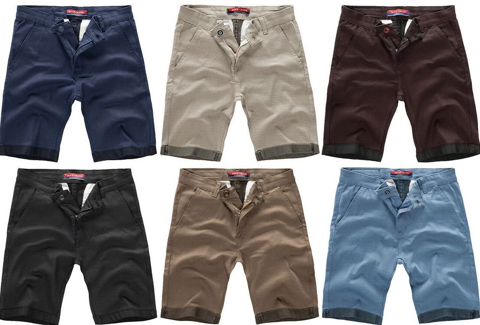 Rock Creek RC 2204 Herren Chino Shorts für je 18,90€ (statt 27€)