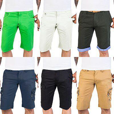 Vintage Cargo Shorts aus 100% Baumwolle in vielen Farben ab 8,99€ (statt 12€)