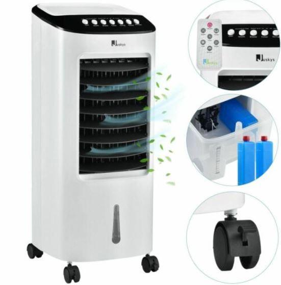 Juskys 51171   65W Mobiles Klimagerät mit Kühlfach für 63,95€ (statt 97€)