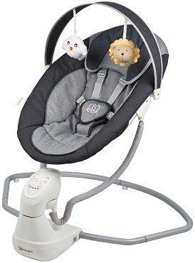 Vorbei! babyGO Babywippe Cuddly in anthracite für 74,99€ (statt 93€)