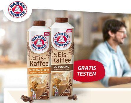Eiskaffee von Bärenmarke kostenlos ausprobieren