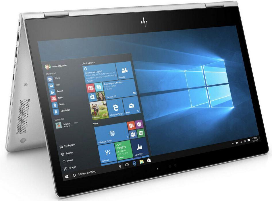 HP EliteBook x360 1030 G2   13,3 Convertible Touch Notebook mit i7, 8GB RAM + 512GB SSD für 588€ (statt 669€)