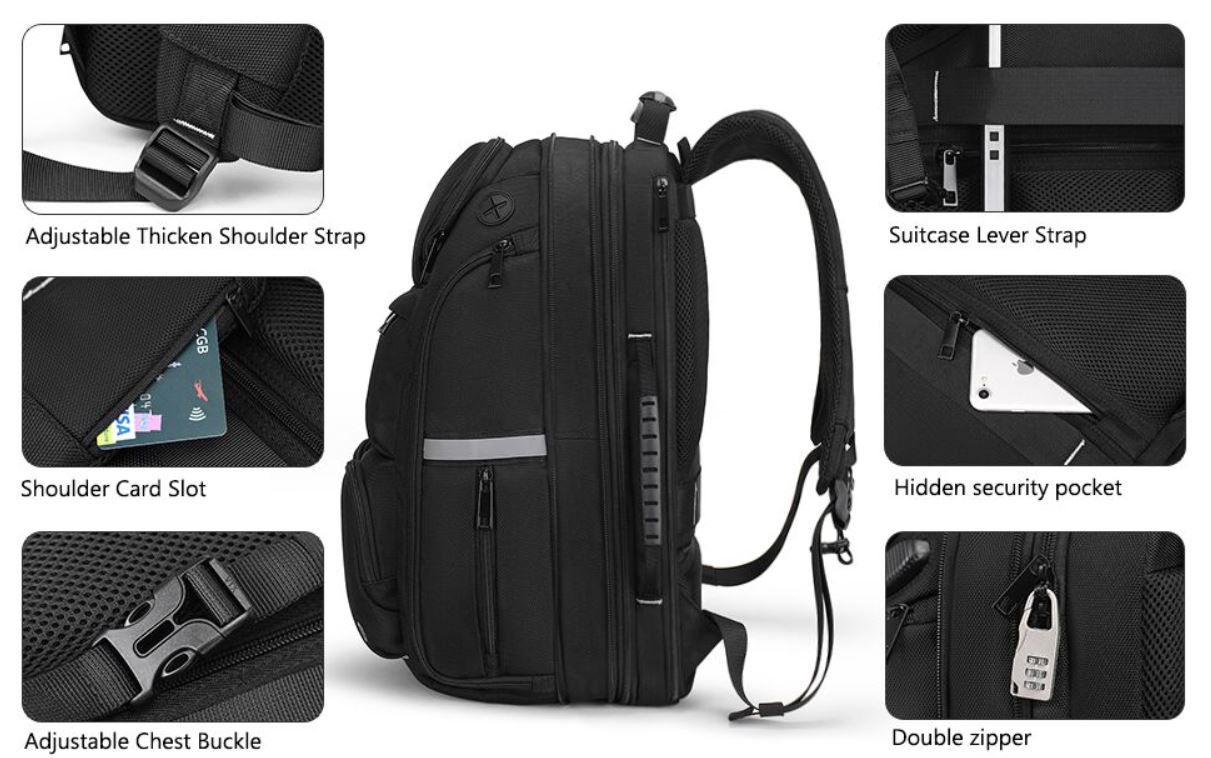 Abgelaufen! Mupack Laptop Business & Reise Rucksack für 23,95€ (statt 60€)