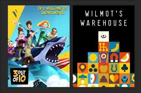 Epic Games: u.a. Wilmots Warehouse (Metacritic 8,4) oder 3 out of 10 gratis