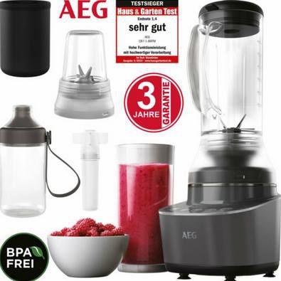 AEG Standmixer Gourmet 7 Kompakt für 49,99€ (statt 85€)