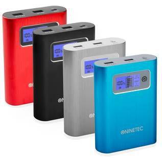 NINETEC PowerDrive 64GB Flash Speicher inkl 13.400mAh Power Bank für 14,99€ (statt 30€) Retouren