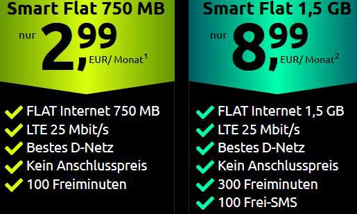 🔥 Telekom Tarif mit 100 Minuten + 750MB LTE für 2,99€ oder 1,5GB für 8,99€ mtl.   eSIM, VoLTE & WiFi Call möglich!
