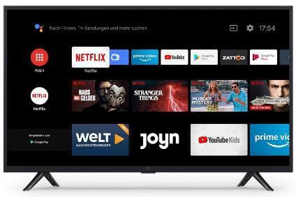 Xiaomi Smart TV 4A    32 Zoll LED SmartTV für 182,15€ (statt 209€)