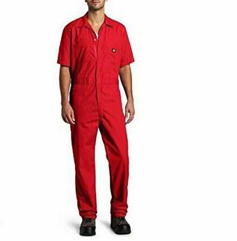 DICKIES Overall Arbeitsoverall in Rot für 13,39€ (statt ~35€)   nur L & XL