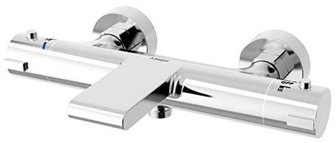 Aihom Wasserfall Badewannenarmatur Thermostat Duscharmatur für 64,99€ (statt 96€)