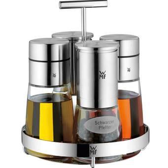 WMF Menage De Luxe 5 tlg. für Pfeffer, Salz, Essig & Öl für 79,99€ (statt 116€)