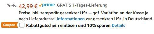 URSICO Stylus Pen 2.Gen für das iPad für 21,49€ (statt 43€)