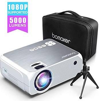 Bomaker GC555   Beamer mit 720p & 5000 Lumen für 69,99€ (statt 110€)