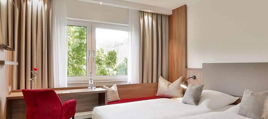 ÜN im 4* Dorint Parkhotel Siegen (HC 100%) inkl. Frühstück, Sauna, Fitness für 29,50€ p.P.