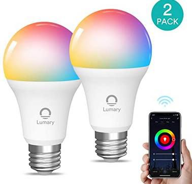 2er Pack: WLAN LED RGBWW Glühbirne mit App Anbindung für 12,99€ (statt 26€)