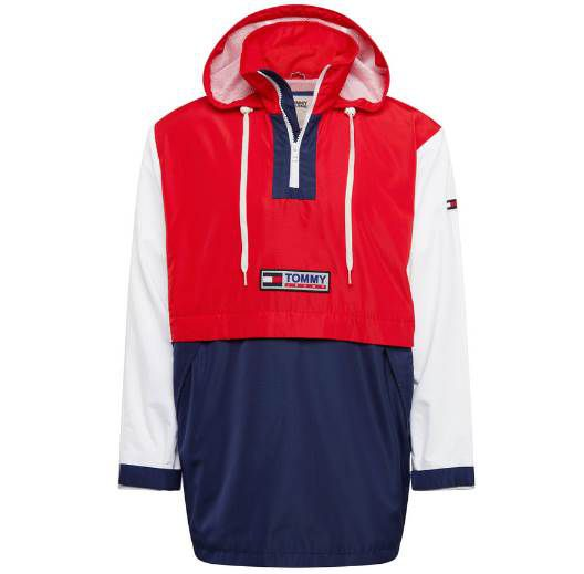 Tommy Jeans Jacke Colorblock Popover für 55,60€ (statt 90€)