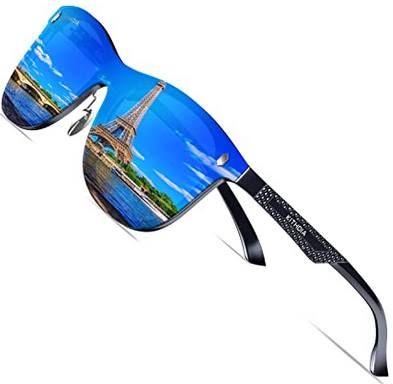 KITHDIA True Color polarisierte Sonnenbrillen mit Metallrahmen in 9 Designs für je 19,52€ (statt 28€)