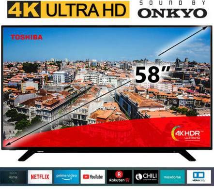 Toshiba 58U2963DG   58 Zoll UHD LED SmartTV für 379,99€ (statt 414€)