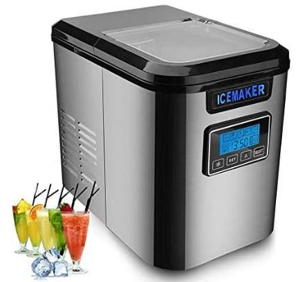 Hengda 150W Eiswürfelmaschine für 3 Größen mit Selbstreinigungsfunktion für 88,89€ (statt 128€)