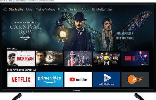 Grundig 43 VLX 7020   43 Zoll UHD Fernseher als Ausstellungsstück für 199€ (statt 275€)