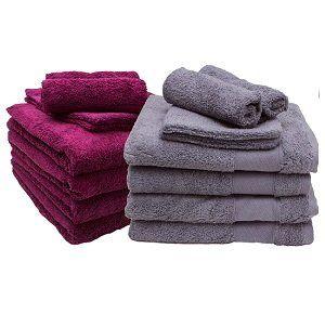 DESCAMPS Handtuch & Waschlappen –8-teiliges Set für 16,86€ (statt 24€) – auch einzeln!
