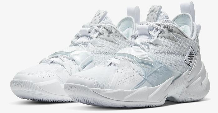 Nike Jordan Why Not? Zer0.3 Basketballschuh in Weiß für 68,93€ (statt 98€)