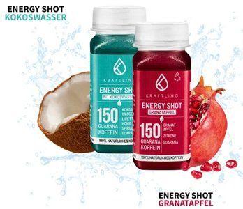 Kraftling Energy Shots kostenlos ausprobieren
