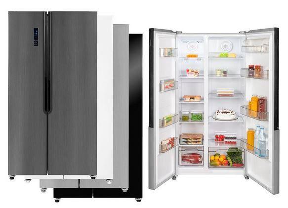 Exquisit SBS 160 4 X   521l Kühlgefierkombi Weiß A++ für 615,02€ (statt 746€)