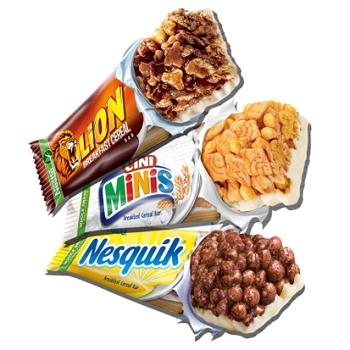 Cerealien Riegel von Nestlé gratis ausprobieren