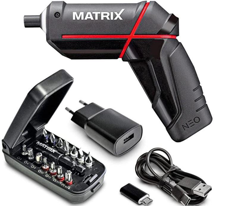 MATRIX NEO 4 V mini Akkuschrauber für 24,95€ (statt 30€)