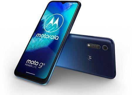 MOTOROLA moto g8 power lite mit 64GB in blau für 114€ (statt 142€)