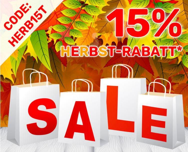 Bis Mitternacht! Neckermann Herbst Sale  + 15% extra Rabatt auf alles ausser Technik/Freizeit VSK frei ab 75€
