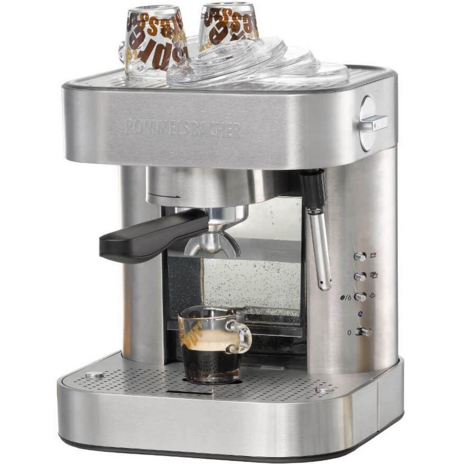 Rommelsbacher EKS 2010 Siebträger Espressomaschine für 159