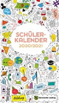 Für sächsische Schüler Schülerkalender 2020/2021 gratis